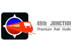 "#6 untuk Design a Logo for ""49th Junction"" Premium Rail Vodka oleh yashwanthny3"
