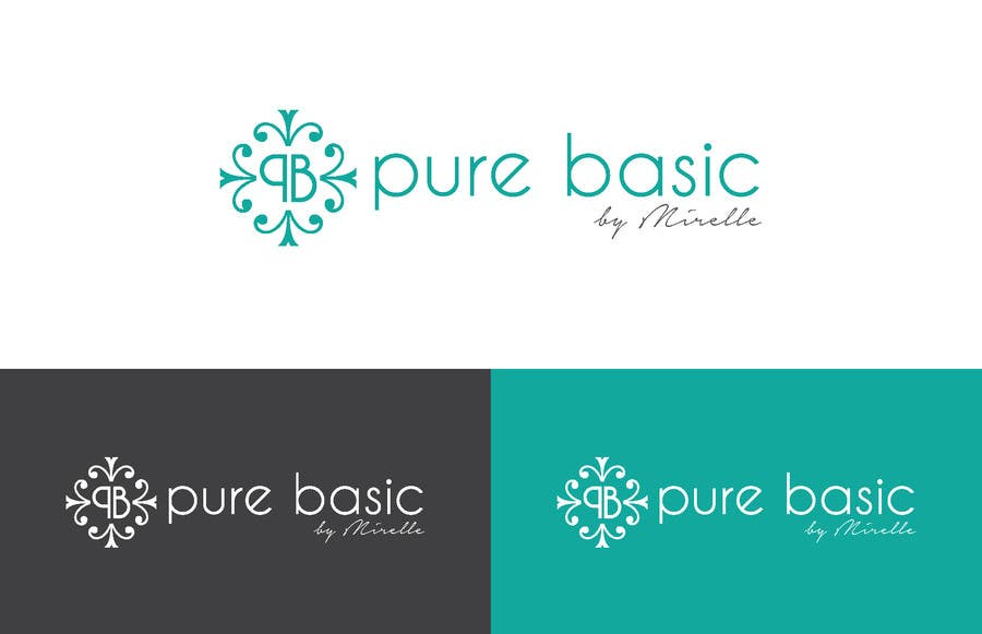 Konkurrenceindlæg #45 for Develop a Corporate Identity for PURE BASIC BY MIRELLE