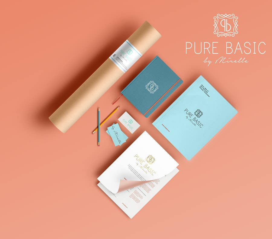 Konkurrenceindlæg #63 for Develop a Corporate Identity for PURE BASIC BY MIRELLE