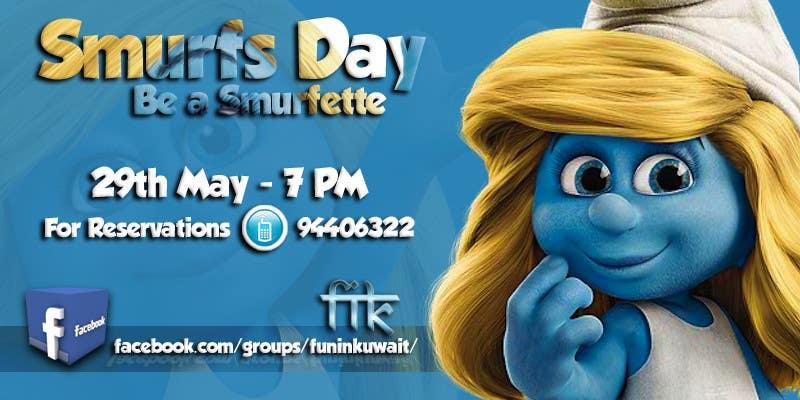 Konkurrenceindlæg #                                        7                                      for                                         Design a Banner for an Smurf Event