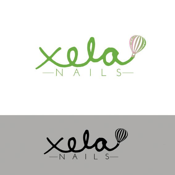 Contest Entry #                                        11                                      for                                         Design a Logo for xela nails