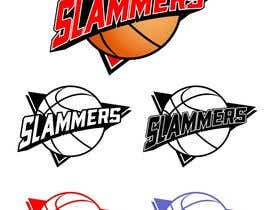 #87 para Design a Logo for Slammers Basketball Team por Qomar