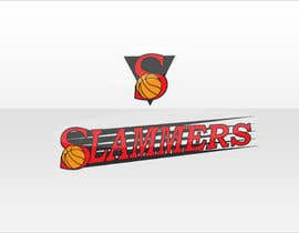 #89 para Design a Logo for Slammers Basketball Team por leo98