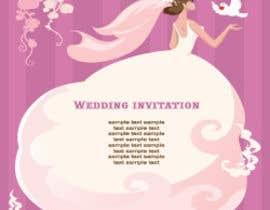 greenuniversetec tarafından Wedding Invitation design needed için no 8