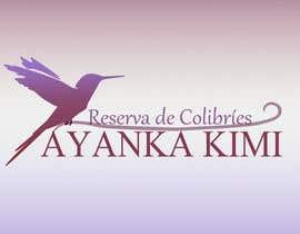 """Alex505Hernandez tarafından Diseñar un logotipo para una reserva de Colibríes llamada """"Reserva de Colibríes Ayanka Kimi"""" için no 34"""