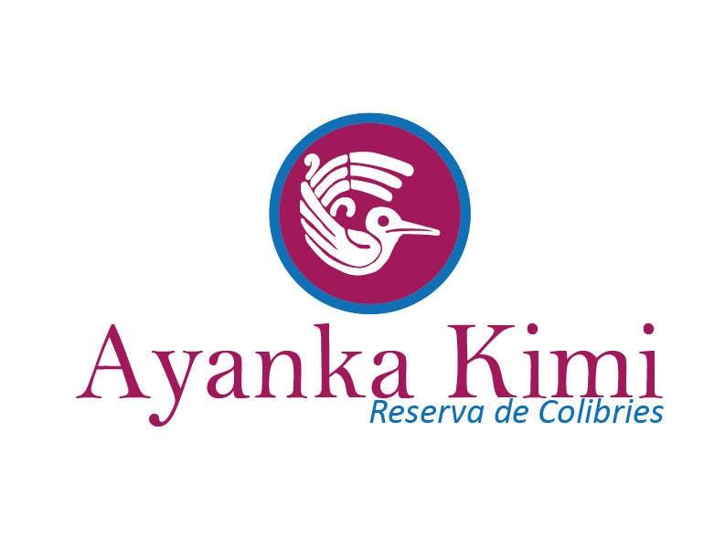 "Bài tham dự cuộc thi #45 cho Diseñar un logotipo para una reserva de Colibríes llamada ""Reserva de Colibríes Ayanka Kimi"""