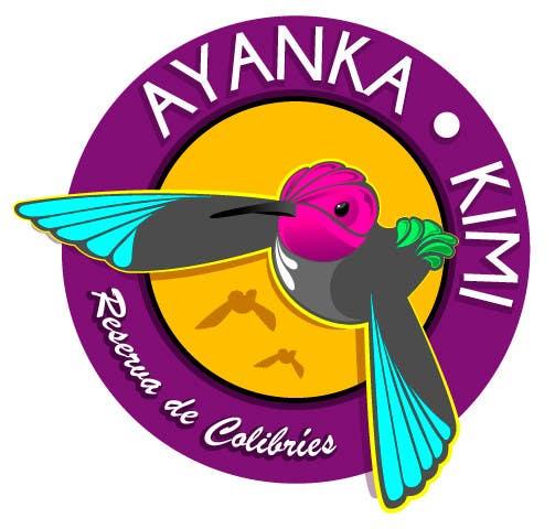 "Bài tham dự cuộc thi #53 cho Diseñar un logotipo para una reserva de Colibríes llamada ""Reserva de Colibríes Ayanka Kimi"""