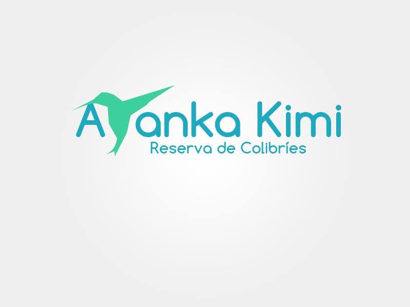 "Bài tham dự cuộc thi #7 cho Diseñar un logotipo para una reserva de Colibríes llamada ""Reserva de Colibríes Ayanka Kimi"""