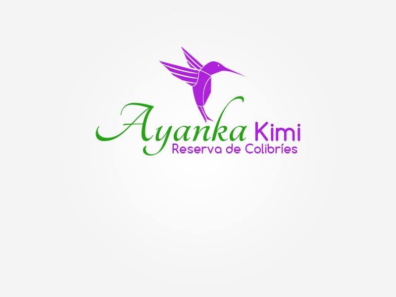 "Bài tham dự cuộc thi #16 cho Diseñar un logotipo para una reserva de Colibríes llamada ""Reserva de Colibríes Ayanka Kimi"""