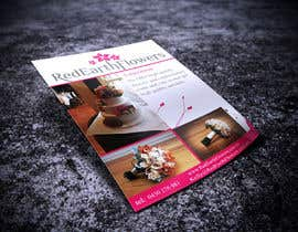#4 for DL Colour Flyer Design for Wedding Florist by Fidelism
