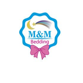 nº 25 pour Design a Logo for M&M Bedding par sgsicomunicacoes