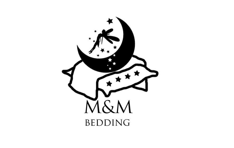 entry #28halinakushnareva for design a logo for m&m bedding