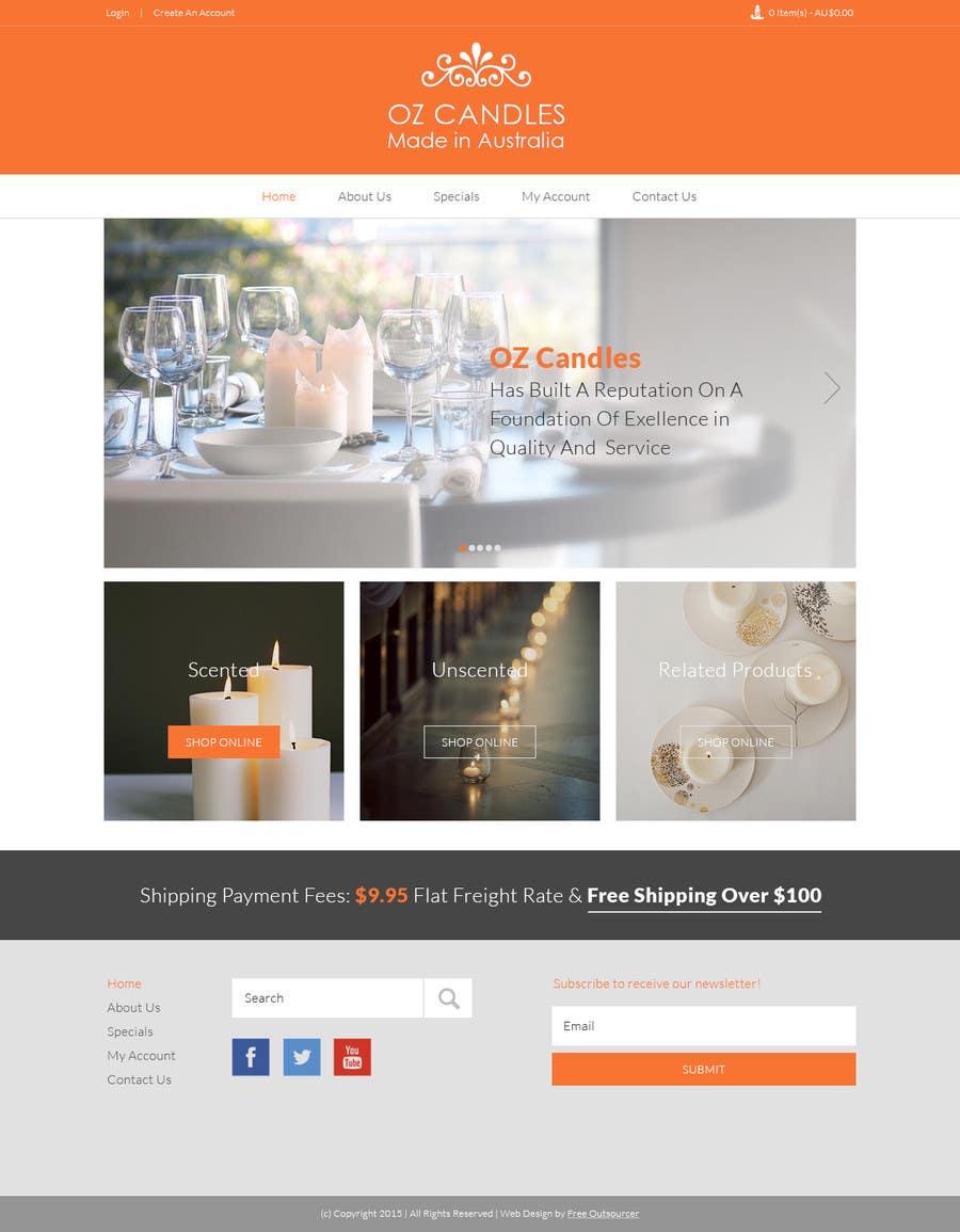 Proposition n°9 du concours Design a Skin for Existing Website