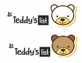 #20 para Design a Logo for Teddy's List por mahbubilinamul