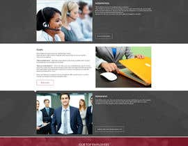 tania06 tarafından Design a Website Mockup for a Recruitment Company için no 14