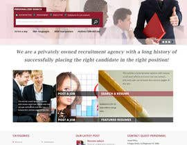 sweetys1 tarafından Design a Website Mockup for a Recruitment Company için no 2