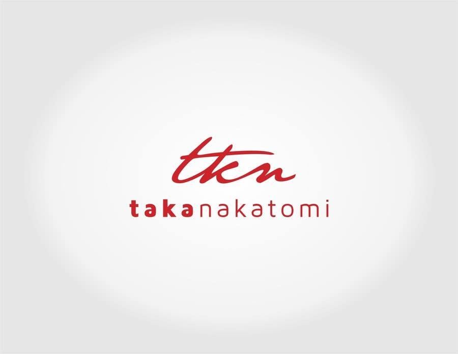 Inscrição nº 258 do Concurso para Design a Logo for Taka Nakatomi