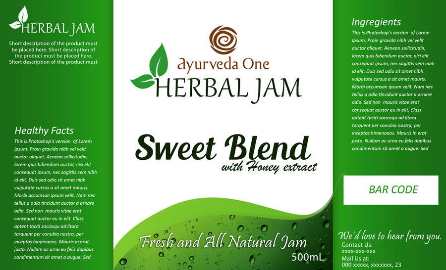 Contest Entry #2 for HERBAL JAM