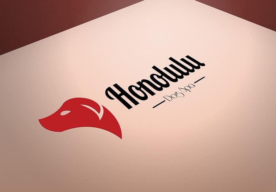 Penyertaan Peraduan #82 untuk Design a Logo for Honolulu Dog Spa