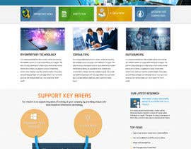 #6 for Design a Website Mockup for CosCis IT Technology af webidea12
