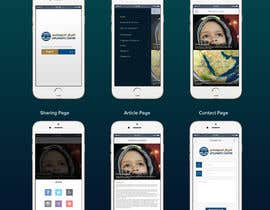 #29 untuk Design a Mockup for Mobile application oleh xrevolation
