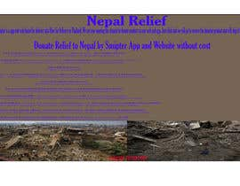 #1 para Design a Banner for Donation Channel for Napali's Earthquake Victim por sreejonchakrabor
