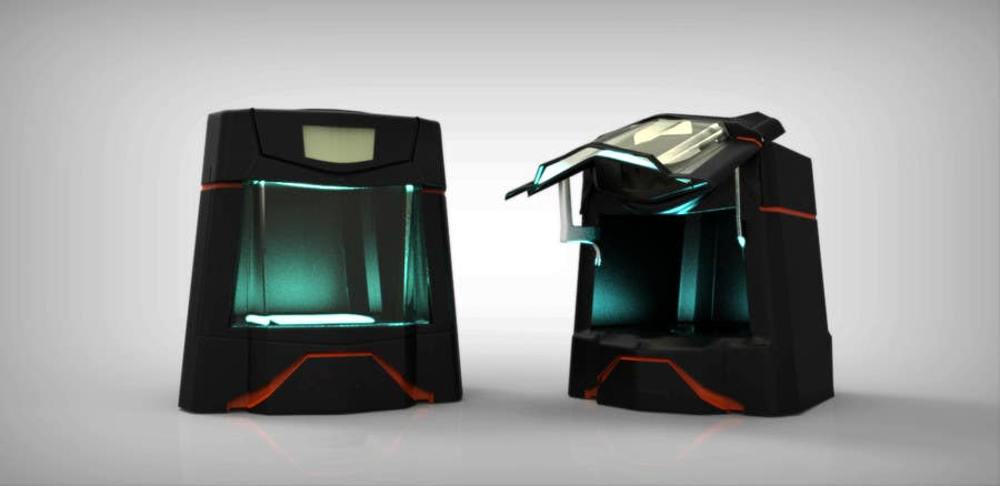 Konkurrenceindlæg #                                        3                                      for                                         Illustrator needed for the design of a futuristic 3D Printer