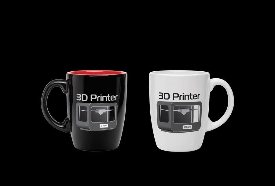Inscrição nº 7 do Concurso para Illustrator needed for the design of a futuristic 3D Printer