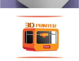 #8 for Illustrator needed for the design of a futuristic 3D Printer af AalianShaz