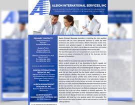 nº 2 pour Design some Stationery for Albion Group of Company par ghani1