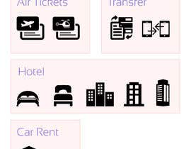 #26 cho Design Icons for travel website bởi updesk