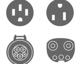 vstankovic5 tarafından Design some Icons for Electrical Connectors için no 3