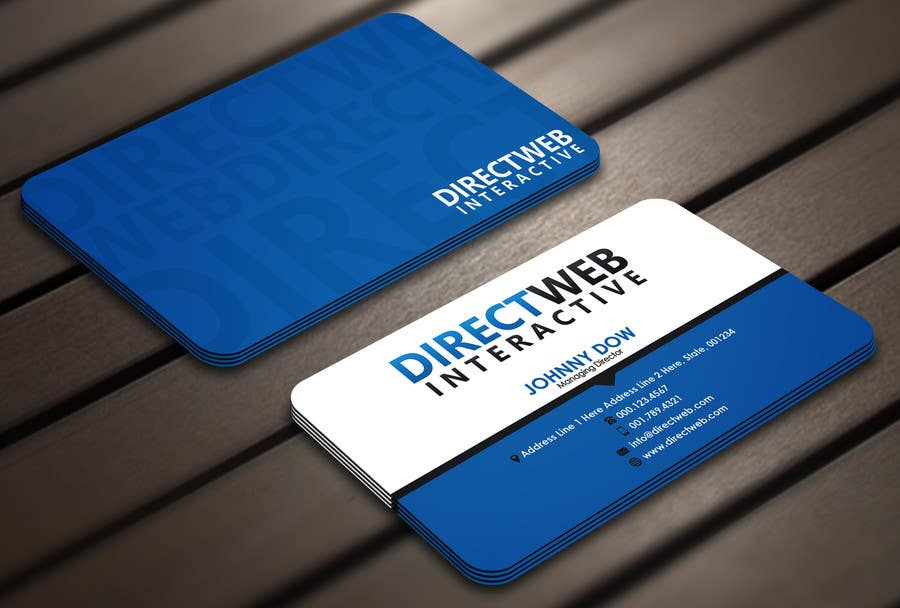 Konkurrenceindlæg #42 for Design Business Card For Marketing Agency