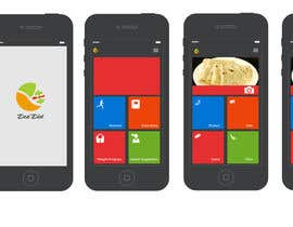 #81 para Design an App Mockup for DesiDiet por apurvajain