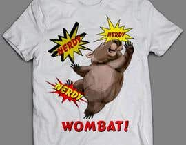 #4 for Design Wombat T-Shirt af sandrasreckovic