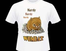 #7 for Design Wombat T-Shirt af biyenna