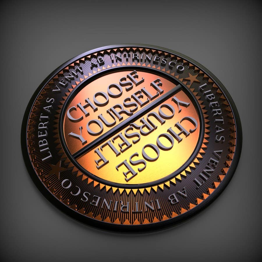 Proposition n°17 du concours Choose Yourself Challenge Coin