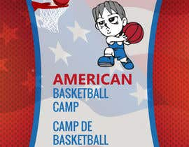 #12 for Design a Logo for Basketball Camp in Paris, France by Manavyminfo