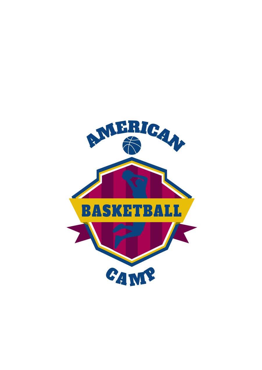 Penyertaan Peraduan #6 untuk Design a Logo for Basketball Camp in Paris, France