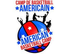 Fegarx tarafından Design a Logo for Basketball Camp in Paris, France için no 10