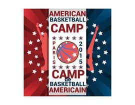 #9 para Design a Logo for Basketball Camp in Paris, France por AdrianCuc