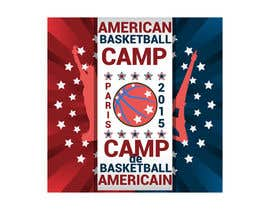 AdrianCuc tarafından Design a Logo for Basketball Camp in Paris, France için no 9