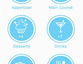 nº 4 pour Design an App Mockup for 'The Potluck Planner' par WeaveOwnWeb