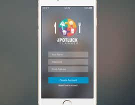 xrevolation tarafından Design an App Mockup for 'The Potluck Planner' için no 7