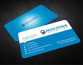 #13 para Design some Business Cards for BrainStorm Incubator por logosuit