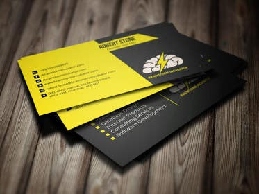 murtalawork tarafından Design some Business Cards for BrainStorm Incubator için no 50