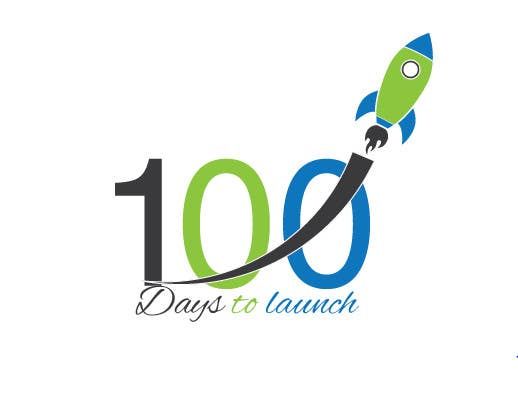 Konkurrenceindlæg #                                        18                                      for                                         Logo Design for 100 Days to Launch