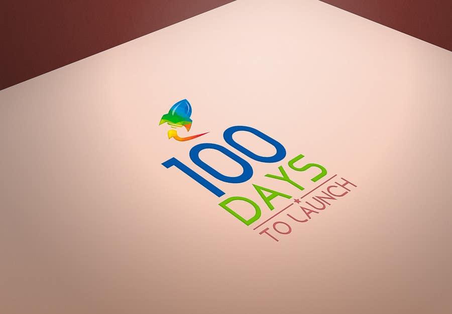 Konkurrenceindlæg #                                        27                                      for                                         Logo Design for 100 Days to Launch