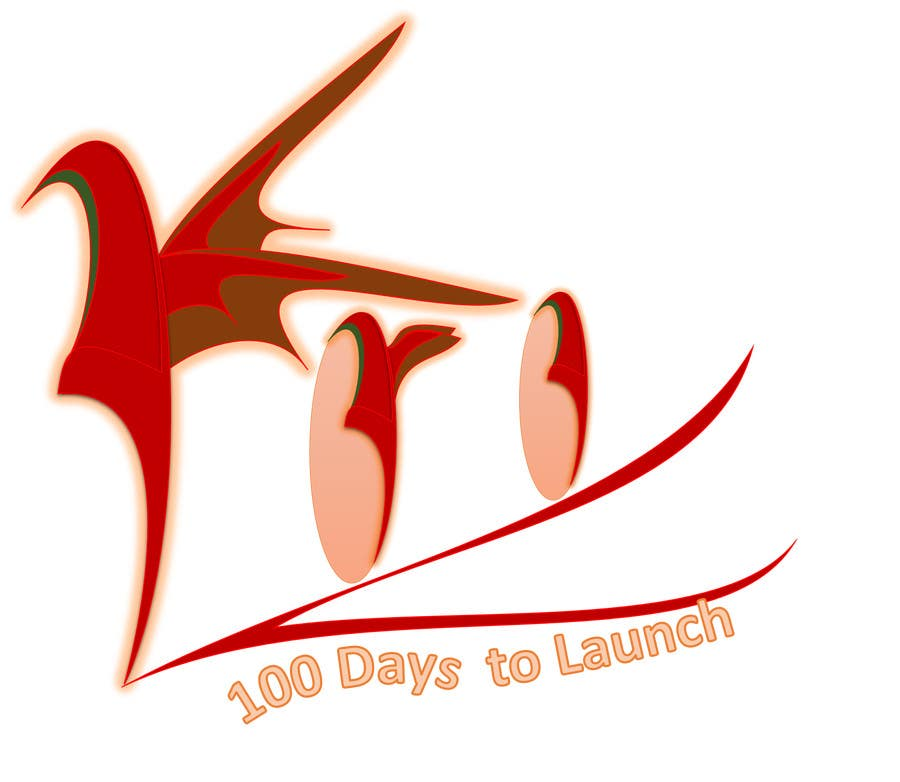Konkurrenceindlæg #                                        20                                      for                                         Logo Design for 100 Days to Launch
