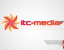 #101 para Logo Design for itc-media.com por redlinez